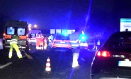 Incidente stradale in A1: muore donna di 70 anni, ferita la figlia