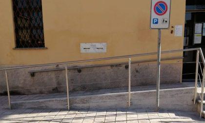 Abbattute le barriere architettoniche dell'Ufficio Postale di Retorbido