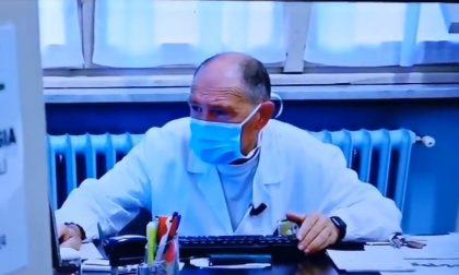 Medico pensionato contagiato dal Covid: guarito, rimette (gratis) il camice