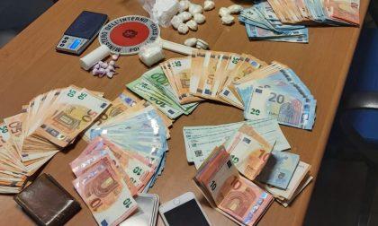 Arrestato per spaccio: in casa cocaina, marijuana e 18mila euro in contanti