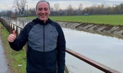 L'assessore Giulio Gallera corridore… ma fuori dal proprio Comune