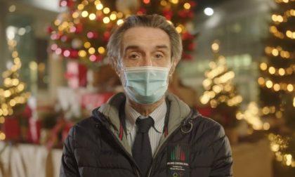 """Gli auguri del Presidente Fontana: """"Questo è un Natale diverso, ma è sempre Natale"""""""
