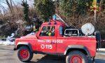 Cade un albero e la linea elettrica si blocca: l'intervento dei Vigili del fuoco FOTO