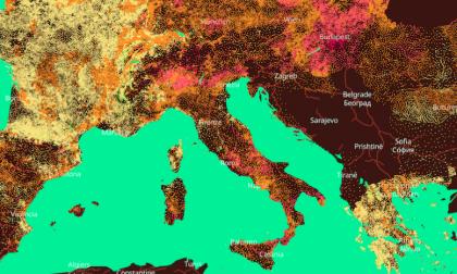 Provincia di Pavia, in 50 anni le temperature si sono alzate di oltre due gradi