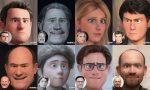 Personaggi famosi di Pavia: come sarebbero in versione cartoon