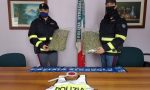 Arrestato corriere della droga, in auto aveva oltre due chili di marijuana