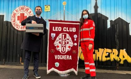 Leo Club Voghera dona un sanificatore alla Croce Rossa