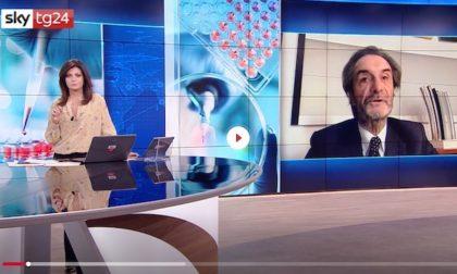 """Fontana: """"Parametri in peggioramento, Lombardia verso la zona rossa"""""""
