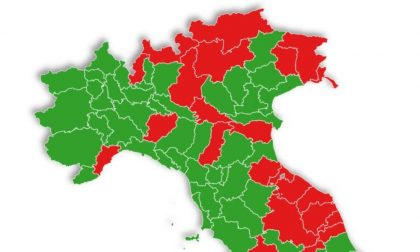 E se le zone fossero divise per provincia? Pavia non sarebbe zona rossa