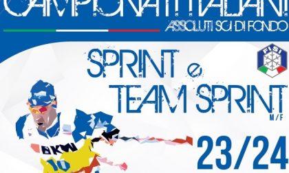 Il 23 e 24 gennaio i Campionati Italiani Sprint e Team Sprint a Clusone