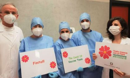 Vaccinazioni Covid: terminata la somministrazione negli ospedali Spoke di Asst Pavia