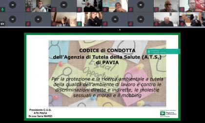 ATS Pavia adotta il codice di condotta contro le discriminazioni, le molestie sessuali e il mobbing