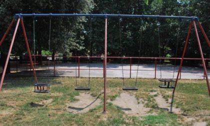 """Nuovi giochi inclusivi al parco Rossignoli dal Kiwanis """"Pavia Visconteo"""""""