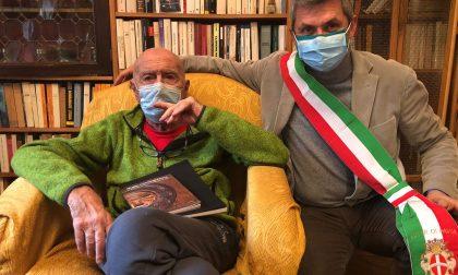 Mino Milani compie 93 anni: gli auguri del Sindaco di Pavia