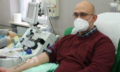 Infermiere guarito dal Covid dona il plasma sei volte per aiutare i malati gravi