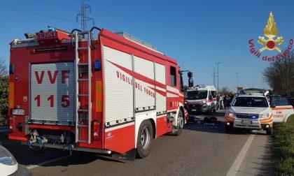 Gravissimo incidente stradale a Gambolò: 7 feriti, tre gravi. Sul posto due elisoccorso