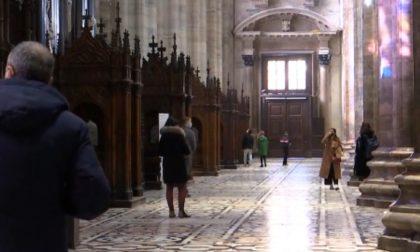 Anche Gerry Scotti fra i primi turisti alla riapertura del Duomo di Milano