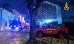 Incendio in abitazione a Casatisma, le foto dell'intervento di Vigili del Fuoco