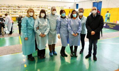 Campagna anti Covid a Broni, in tre giorni vaccinati 720 cittadini