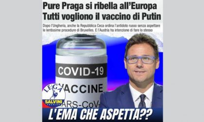 "Ciocca (Lega): ""L'EMA testi il vaccino Sputnik"""