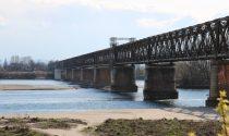 Po a secco come ad agosto: al Ponte della Becca è sos siccità