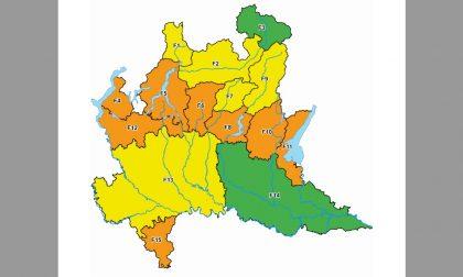 Rischio incendi boschivi: allerta arancione in Oltrepò Pavese