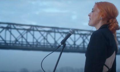 """Sanremo 2021, girato al Ponte della Becca il video ufficiale di """"Glicine"""" di Noemi"""