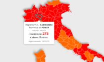 Ancora in calo l'incidenza dei contagi, ma Pavia resta sempre sopra quota 250