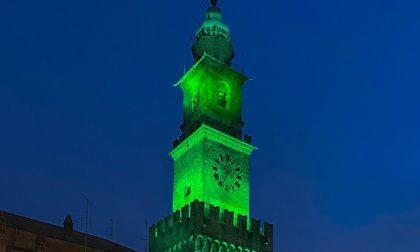 Prestigiose location illuminate di verde per il giorno di San Patrizio, anche a Pavia e Vigevano