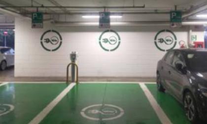 Oriocenter ultimato il servizio di ricarica per le auto elettriche