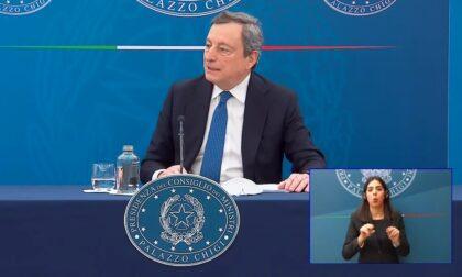 """Draghi conferma: """"Dopo Pasqua scuole aperte fino alla prima media anche in zona rossa"""""""