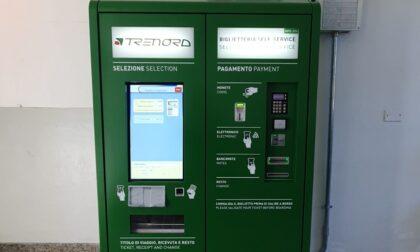 Installata una nuova emettitrice automatica di biglietti nella stazione di Stradella