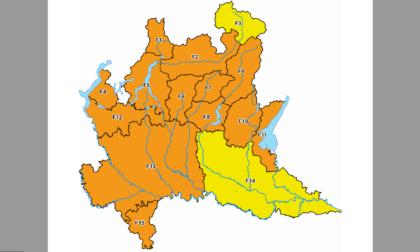 Alto rischio di incendi boschivi: allerta arancione della Protezione Civile