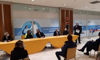 Anche l'assessore Foroni all'inaugurazione dell'Hub vaccinale di Vigevano