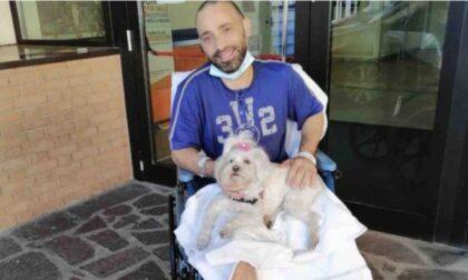 Una protesi elettronica per Salvatore, il 44enne pavese che sogna di camminare