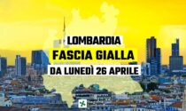 Da oggi la Lombardia torna in zona gialla, ecco cosa cambia