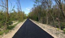 Greenway Voghera-Varzi: prima tappa Godiasco, completata l'asfaltatura