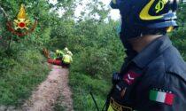 Cade in un dirupo con la moto da cross: elisoccorso per un 55enne