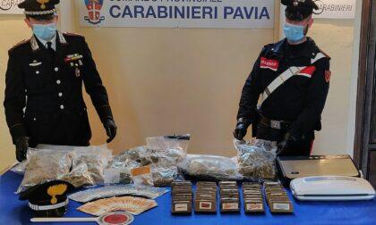 Architetto con l'hobby dello spaccio: arrestato 44enne, in casa 10 chili di droga