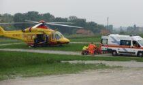 Incidente a Montecalvo, grave 60enne elitrasportato in ospedale