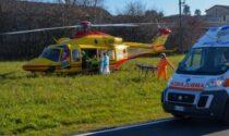 E' morto nella notte il ciclista investito da un furgone a Torrazza Coste