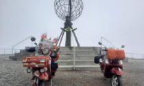 Fino a Capo Nord su una Vespa del 1985: il viaggio simbolo di ripartenza di Mario