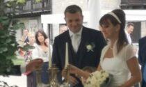 Il senatore pavese Gian Marco Centinaio sposa Silvia, al matrimonio anche Salvini