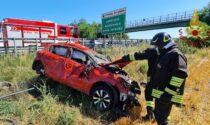 Incidente sulla A21: bimbo di sette anni in ospedale in elisoccorso