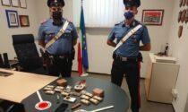 Trovato con quattro chili di hashish, arrestato commerciante