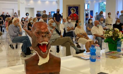 "A Fortunago inaugurata la mostra ""L'eredità di Dante"""