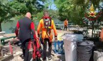 Il video delle ricerche del 47enne disperso nelle acque del Ticino