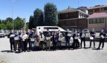 """I """"Progetti del Cuore"""" donano un mezzo per disabili ai cittadini di Pavia"""