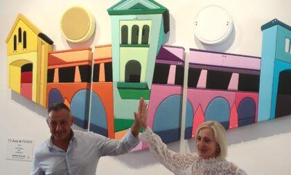 Un'opera di Stefano Bressani per celebrare i 70 anni del Ponte Coperto