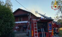 Incendio tetto ad Arena Po: fiamme spente in diverse ore di lavoro